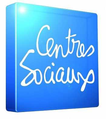 Logo Centres sociaux parisiens avec filet